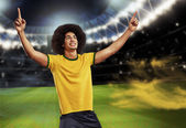 Soccer player — Stock Photo