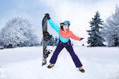 Snowboard — Foto Stock