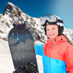 Постер, плакат: Snowboarding