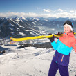 Stock Photo: Alpin girl