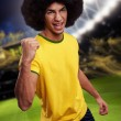 Soccer player — Stock Photo #41499161
