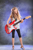 Rock girl — Stock Photo