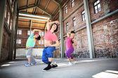 Fitness dance — Stock Photo