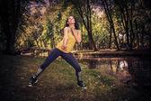 フィットネス ダンス — ストック写真