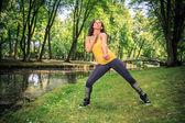 Fitness dance — Stock fotografie