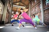 Fitness-tanz — Stockfoto