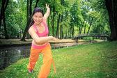 танец фитнес — Стоковое фото