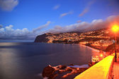 Sunset over Madeira — Stock Photo