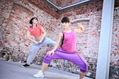 Fitness dance — Foto de Stock