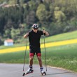 Roller skiing — Stock Photo #49417559