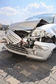 Demolished car — Stock Photo