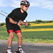 Roller skiing — Stock Photo #49644113