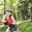 Cycling woman — Stock Photo #50004119