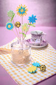 Fondant flowers — ストック写真