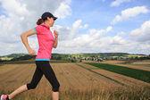 Jogging femme — Photo