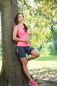 Jogging kobieta — Zdjęcie stockowe