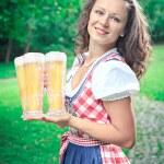 Bavarian girl — Stock Photo #51581903