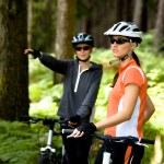 bisikleti Çift — Stok fotoğraf #6170419