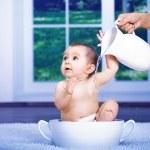 Baby bath — Stock Photo #6219243