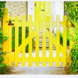 Garden gate — Stock Photo