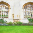 Cambridge architecture — Stock Photo