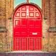 Red door — Stock Photo #13553558