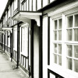 Old english houses — Stock Photo #13554842