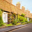 English cottages — Stock Photo