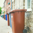 Stock Photo: Rubbish bins