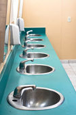 Public restroom — Stock Photo