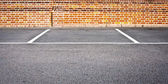 Parking space — Stock Photo