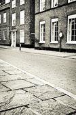 Cobbled street — Stock Photo