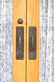 Door handles — Stock Photo