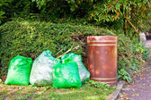 Rubbish bags — Stock Photo