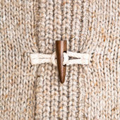 Wooly jumper toggle — Stock Photo