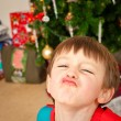 Child at christmas — Stock Photo