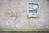 Derelict window — Stock Photo