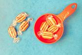 Humbug sweets — Stock Photo