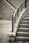 Taş basamaklar — Stok fotoğraf