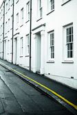 Town houses — Stock Photo