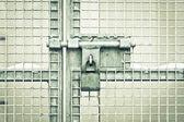 Gate padlock — Stock Photo