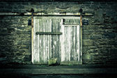 Old door — 图库照片