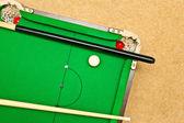Pool table — Stock Photo