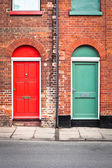 Front doors — Stock Photo