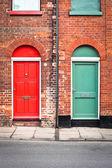 Front doors — Stock Photo