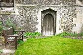 Church garden — Stock Photo