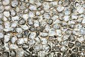 Flint stone wall — Stock Photo