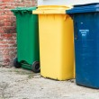 Recycling bins — Stock Photo #23369210