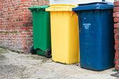 废物回收箱 — 图库照片