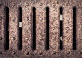 Metal grill — Stock Photo